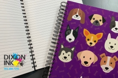 Large Wire-o Notebook